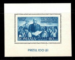 Romania  (1946)  - Scott # CB4,