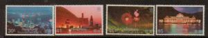 HONG KONG SG442/5 1983 HONG KONG BY NIGHT MNH