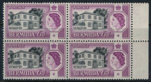 Bermuda #168*NH Block of 4  CV $2.80
