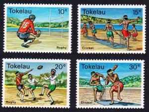 Tokelau Local Sports 4v SG#69-72 SC#69-72