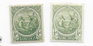 Barbados #128 MH - Stamp - CAT VALUE $2.50 PICK ANY ONE