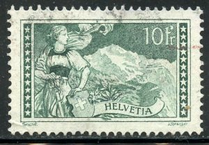 Switzerland # 185, Used. CV $ 37.50