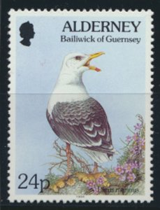 GB Alderney  SG A72 MNH   24p Great Black Backed Gull Birds 1994 SC# 82 See scan
