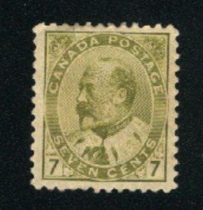 Canada 92  Mint VF 1903   PD