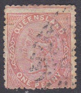 Queensland Sc #57 Used; Mi #40