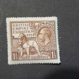 Great Britain #186 mint NH,OG (slight toning)