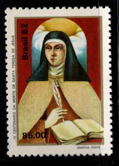 Brazil Scott  1819 MNH** St. Theresa of Avila stamp