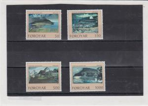 Faroe Islands Mint Never Hinged Stamps Ref 28187