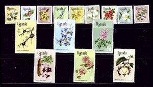 Uganda 115 - 29 MLH 1969 Flowers