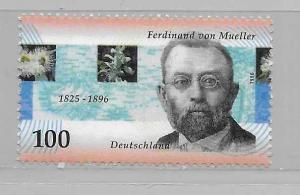 Germany 1949 Baron Ferdinard von Mueller single MNH