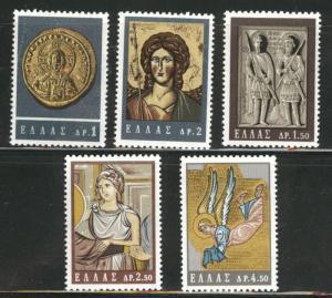 GREECE Scott 788-792 MNH** complete 1964 Byzantine Art set