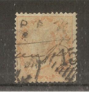 India 1865 2A SG61/62 Used