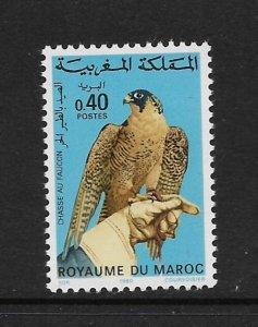 BIRD - MOROCCO #458  MNH