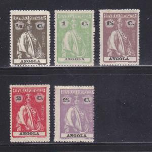 Angola 134, 137-140 MHR Ceres
