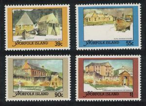 Norfolk Restored Buildings from the Convict Era 4v SG#452-455 SC#444-447