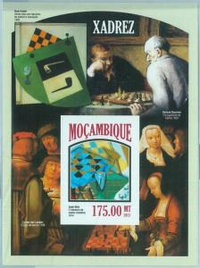 1462 - MOZAMBIQUE - ERROR, 2013 IMPERF SHEET: Chess