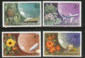 NAURU Scott 142-145 MNH** 1976  set