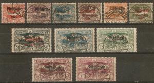 Upper Silesia 32-42 Used  1921 SCV $284.00