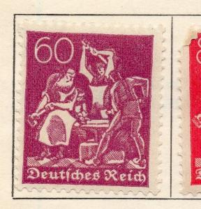 Germany 1922 Early Issue Fine Used 60pf. 235828