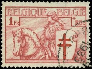 Belgium Scott #B160 Used