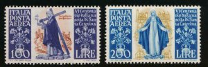 ITALY C127-C128 MINT NH AIR MAIL