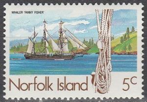 Norfolk Is #356 MNH F-VF (SU4551)