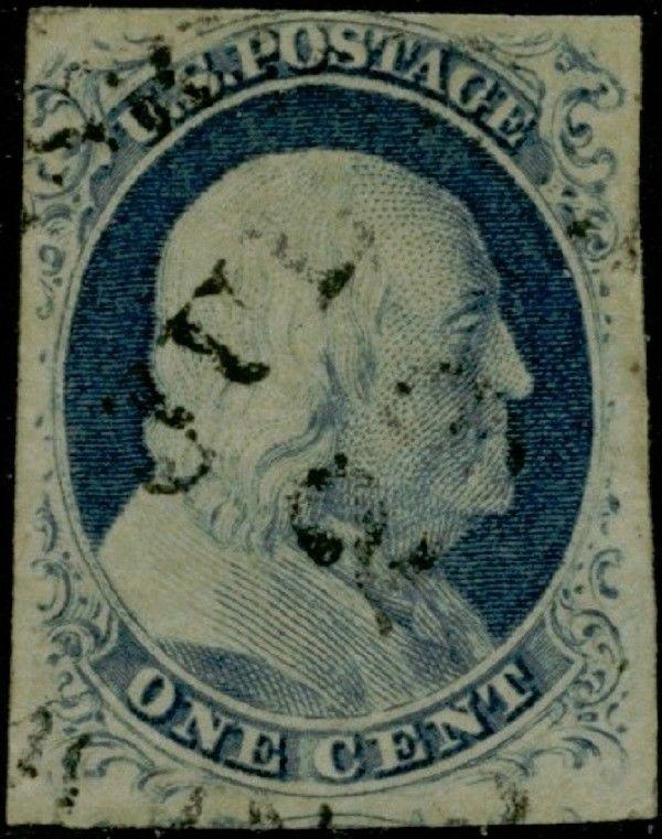 #9 1¢ TYPE IV VF+ USED CV $100.00 BQ299