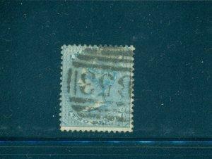 Mauritius - Sc# 25. 1860 Victoria 2p Used. $60.00.