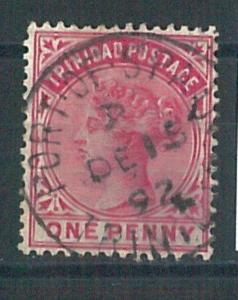 70636 -  TRINIDAD  - STAMP: nice stamp with STOCK IN THE NOSE - Very Fine  USED