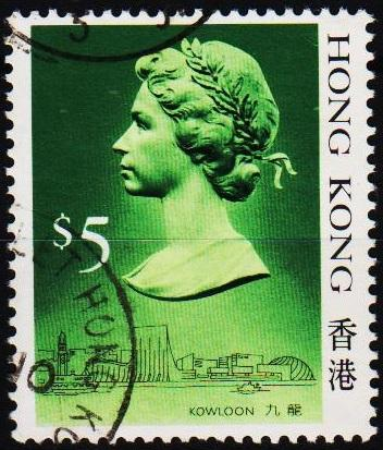 Hong Kong. 1987 $5 S.G.612  Fine Used