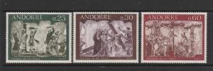 Andorra 1968 frescoes UM/MNH F210/2