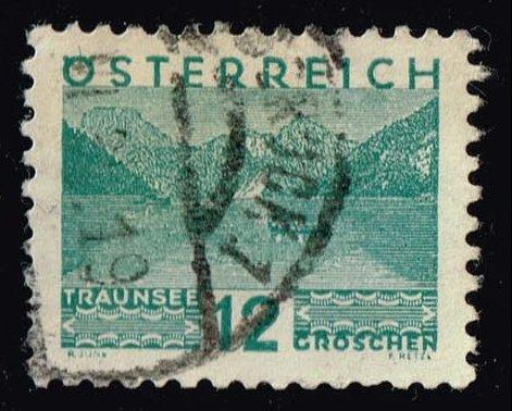 Austria #341 Traunsee; Used (0.25)