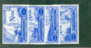 NIUE 725-8 MH CV $6.15 BIN $2.75