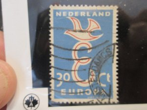 Netherlands #376 used