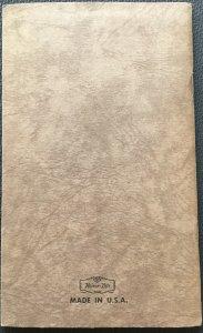 Mint Block Booklet Holder Holds 20 Blocks
