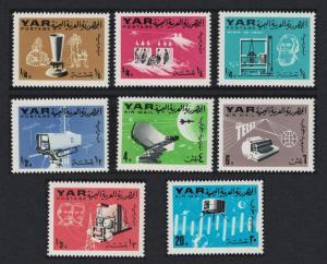 Yemen Telecommunications 8v 1966 MNH SG#359-366