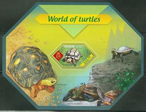 SOLOMON ISLANDS  2014 WORLD OF TURTLES  SOUVENIR SHEET  MINT NH