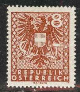 Austria Scott 436 MH* stamp from 1945 set