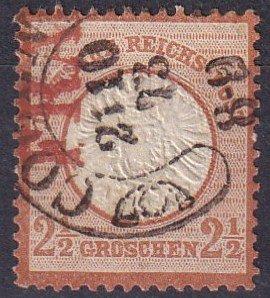 Germany #19 F-VF   Used  CV $67.50  (Z2854)