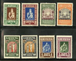 LITHUANIA  277C-277K PERF  MH SCV $20.20 BIN $10.00