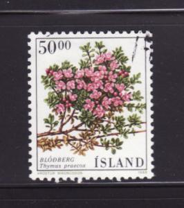 Iceland 664 U Flowers (A)