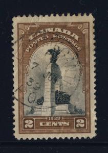 CANADA - 1939 - LAC MEGANTIC / P.Q. CANCEL ON SG 373