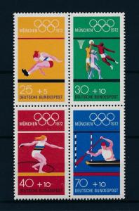 [56193] Germany 1972 Olympic games Athletics Basketball Canoeing MNH