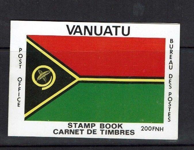 Vanuatu: 1980 Stamp Booklet, National Flag, SB2