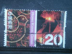 HONG KONG, 2002, used $20.00, Cultures Scott 1012