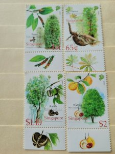 SINGAPORE  2008  CASH CROPS OF EARLY SINGAPORE IN  MINT CONDITION
