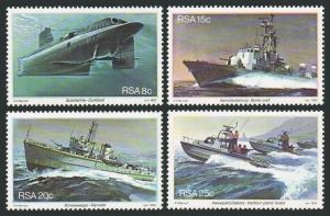 South Africa MNH 560-3 Naval Vessels 1982