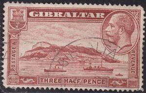 Gibraltar 97 USED 1931 Rock of Gilbraltar