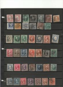 U.S. rare stamp vintage collection