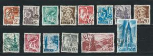 Germany 5N14-27 1948 set Used